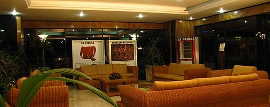 Sala de estar.  Restaurante Le plac. Fuente: hotelcartagenaplaza.com.co